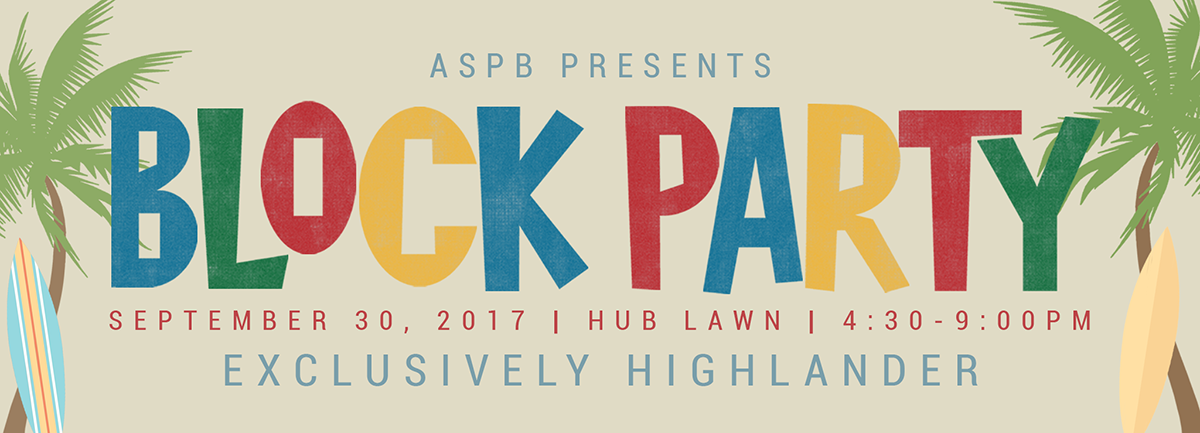 Block Party 2017 – Reminders