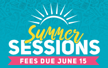 Summer Sessions Enrollment Is Now Open! Sign up for summer quarter classes today! Financial aid is available. Apply by April 15. Summer Sessions: June 25, 2018 – September 15, 2018.